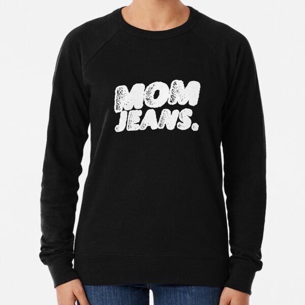 Logo de bande Mom Jeans Sweatshirt léger