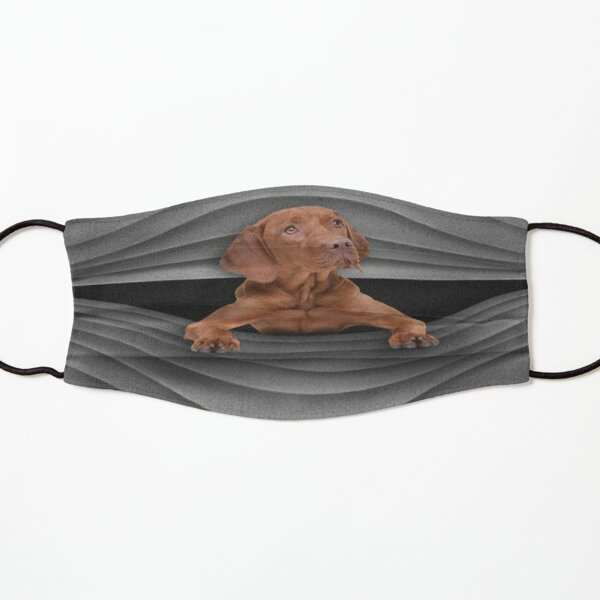 Vizsla Waves masks: Vizsla  stripes  Kids Mask