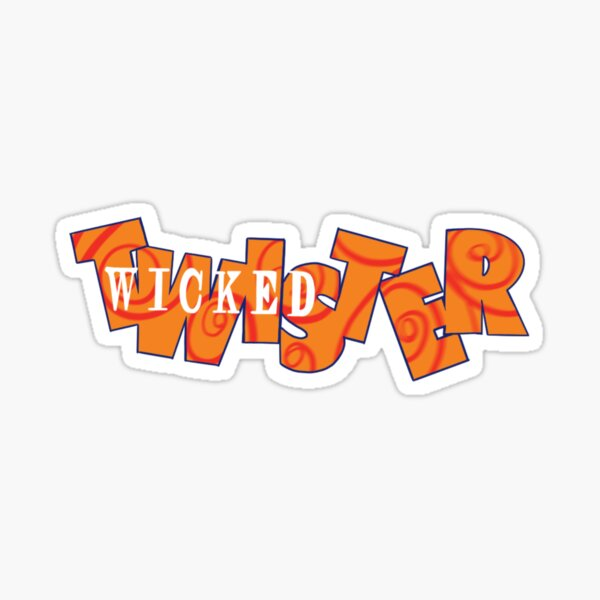 Wicked Twister Sticker