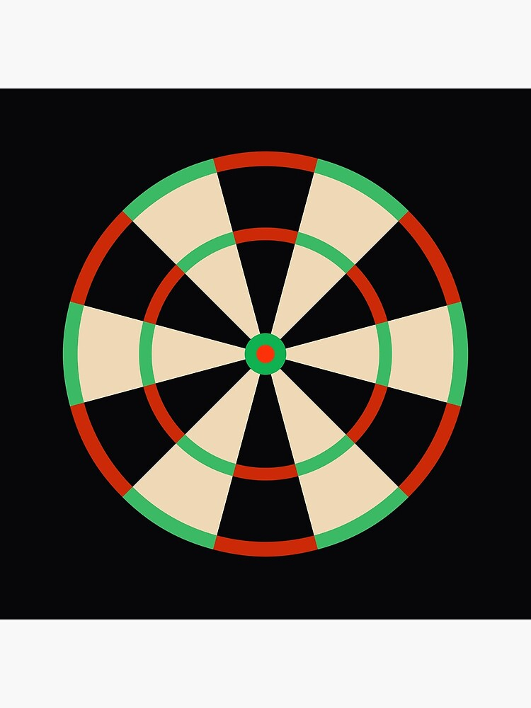 Wide Fives Dartboard by QuirkyClock