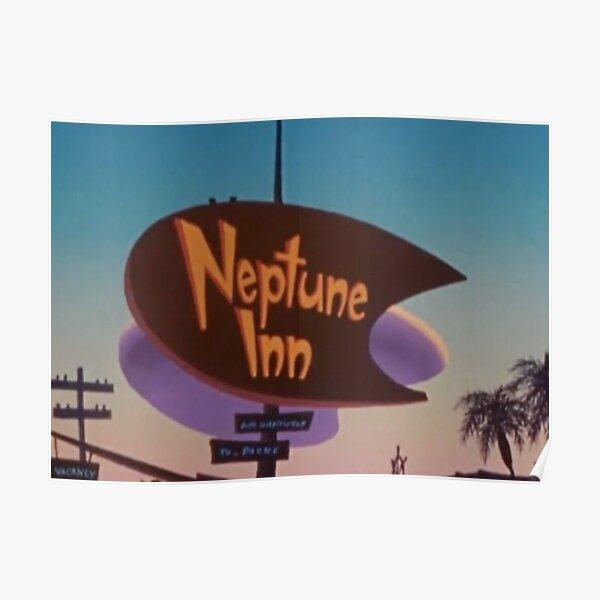 Neptune Inn Sign from A Goofy Movie Poster