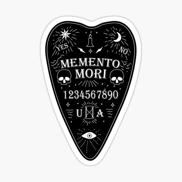 Unus Annus Ouija Board White Sticker