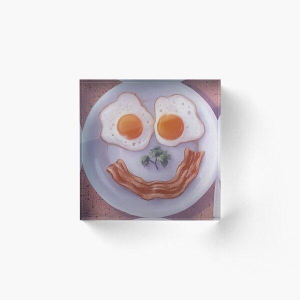 Diner Breakfast from A Goofy Movie Acrylic Block