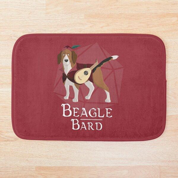 Beagle Bard Bath Mat