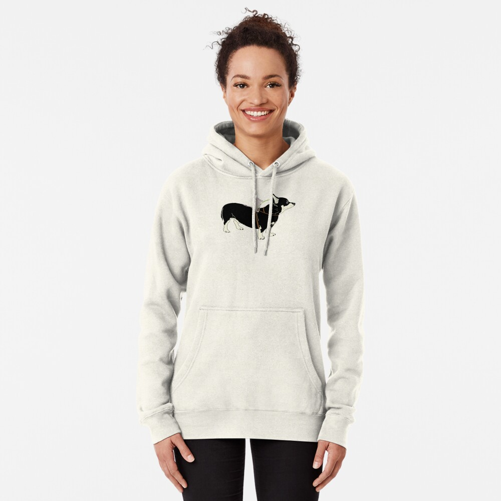 Mouse Rider Pullover Hoodie