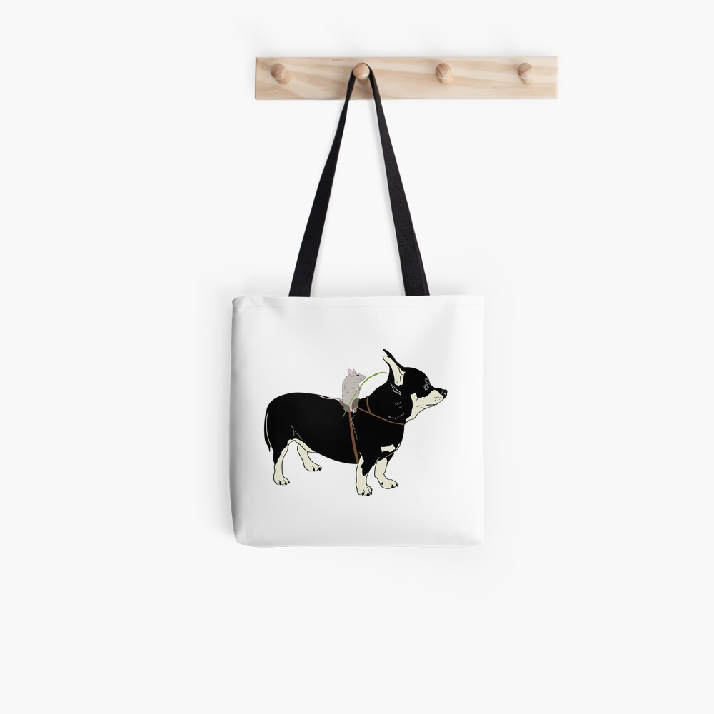 Mouse Rider Tote Bag