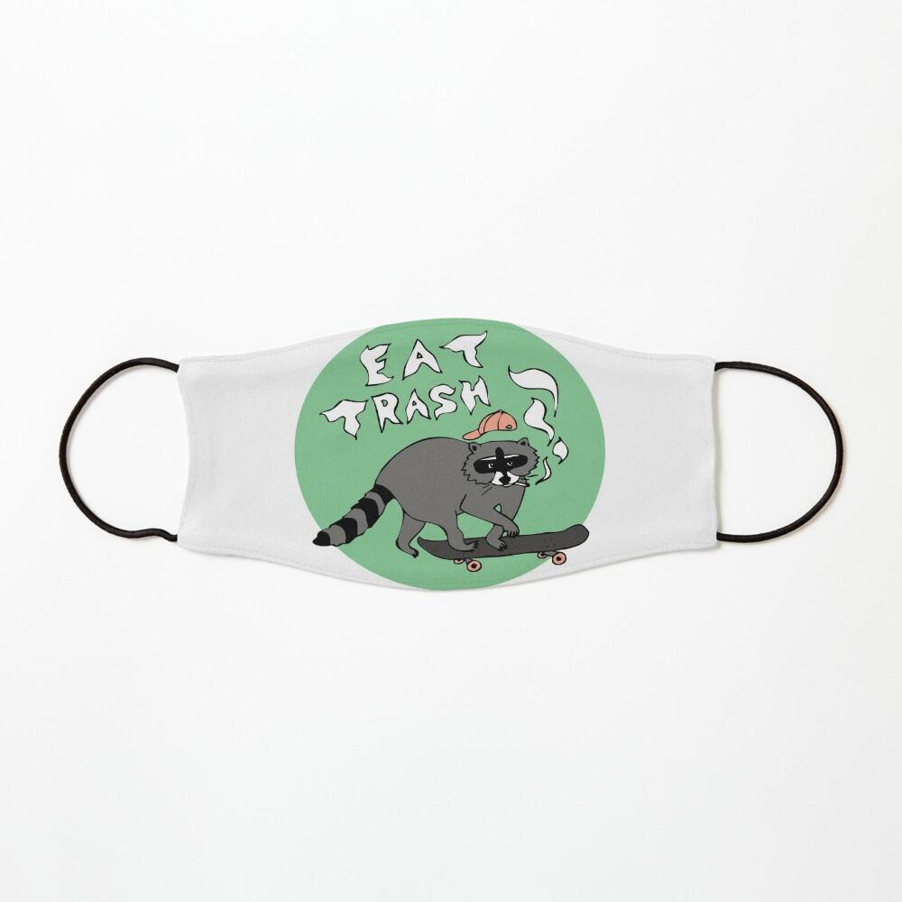 Eat Trash, Skateboarding Raccoon Mask
