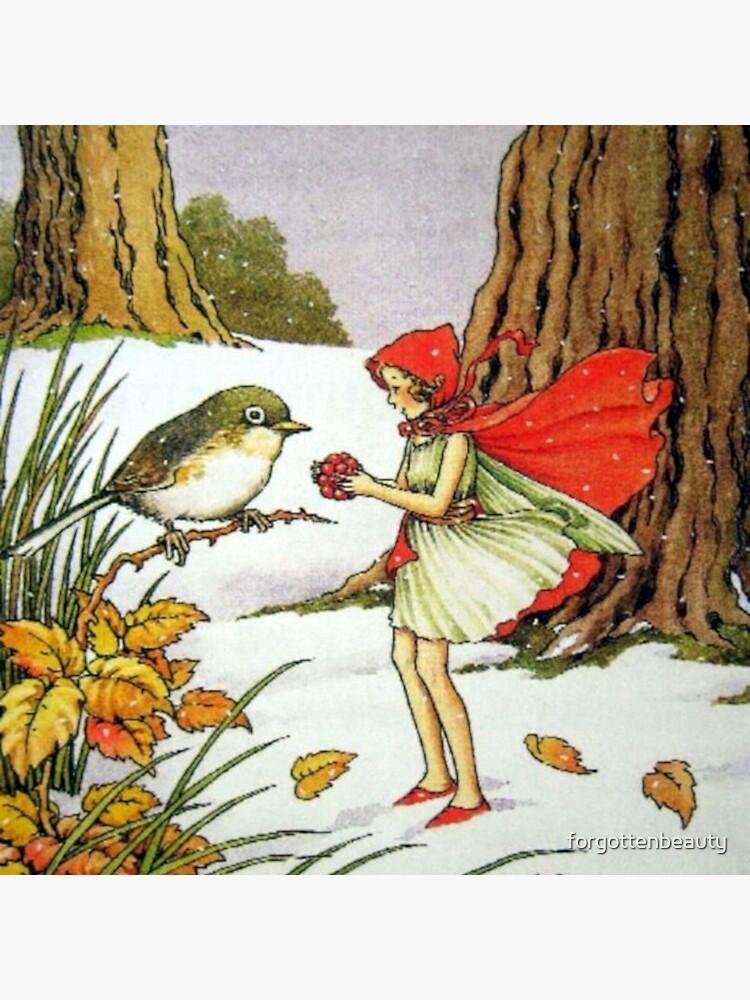 Winter Fairy - Ida Rentoul Outhwaite by forgottenbeauty
