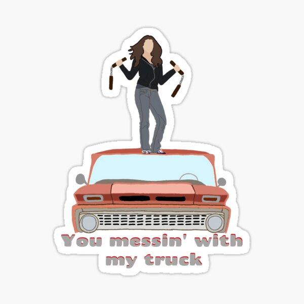 Twilight Bella Truck Vine Sticker