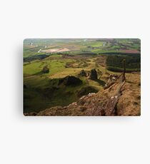 Lofty View From Binevenagh Canvas Print