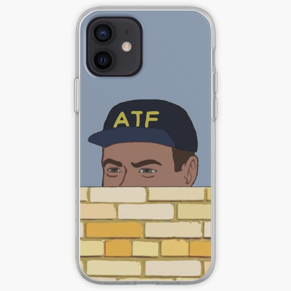 ATF Guy Fence Peeking - Meme, Gun Rights iPhone Soft Case