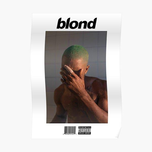 Frank Ocean - Blonde  Poster