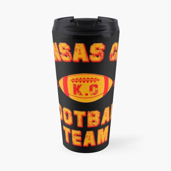 Kansas city football team est 1960 chiefs jersey Travel Mug