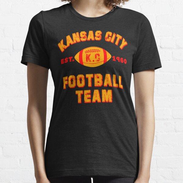 Kansas city football team est 1960 chiefs jersey Essential T-Shirt