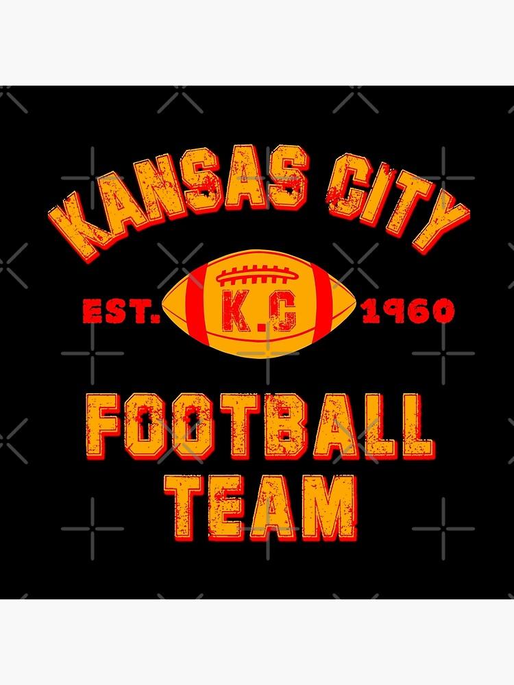 Kansas city football team est 1960 chiefs jersey by GoodyLeo