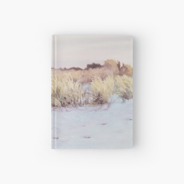 Cannon Beach - Fine Art, Landscape Painting Hardcover Journal