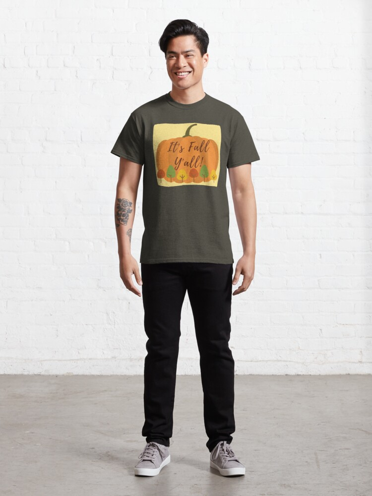Alternate view of It's Fall Y'all! Classic T-Shirt