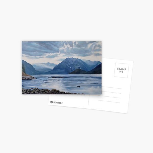 Malibu, Canada - Fine Art, Landscape Painting Postcard