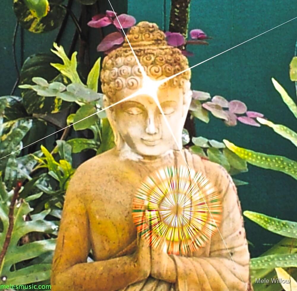BUDDHA SHINING by Jean Willow