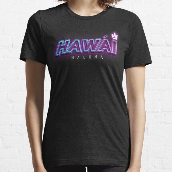 MALUMA HAWAI-NEON Camiseta esencial