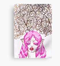 Elf thoughts Canvas Print