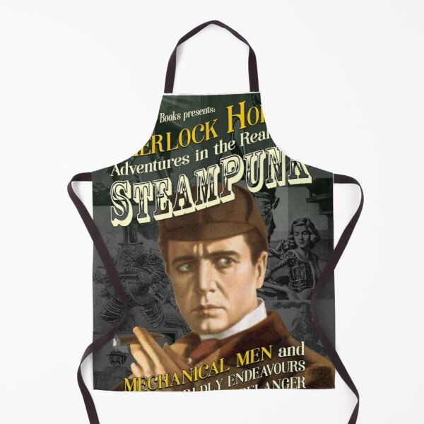 Sherlock Holmes: Steampunk Mechanical Men Apron