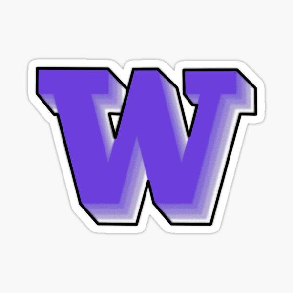 University of Washington w Sticker