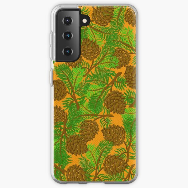 Pine cone  Samsung Galaxy Soft Case