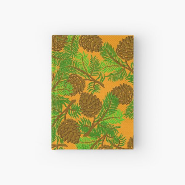 Pine cone  Hardcover Journal