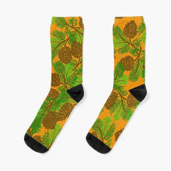 Pine cone  Socks