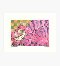 A Cheshire Smiles Art Print