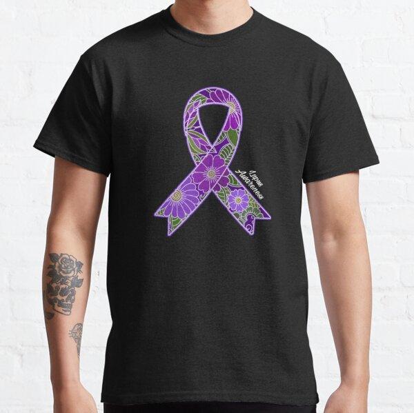 Lupus Awareness Purple Ribbon Classic T-Shirt