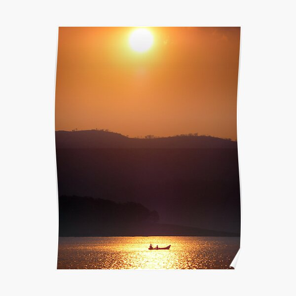 South Indian Sunset Poster