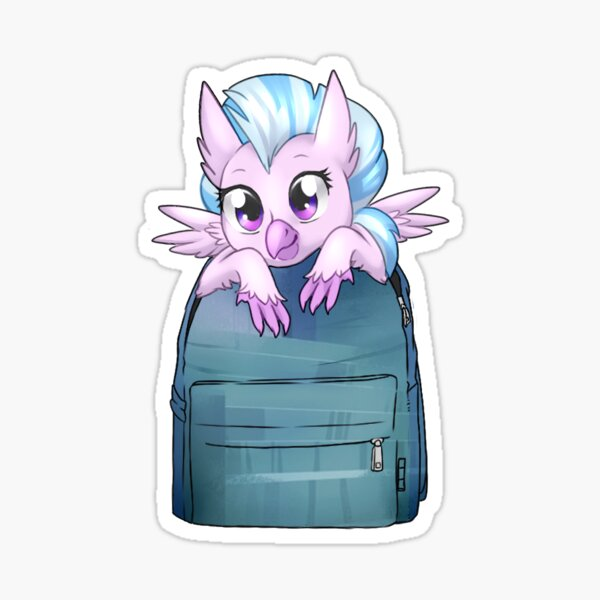 Silverstream Bagpack Hippogriff Sticker