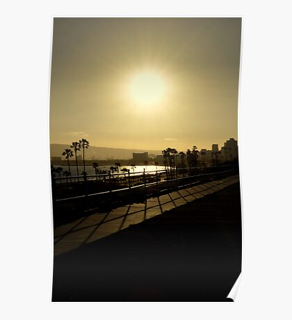 Sunshine and Silhouettes Poster