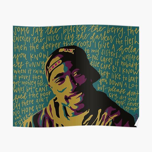 Tupac. Poster