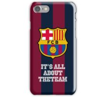 Fc Barcelona cover iPhone Case/Skin