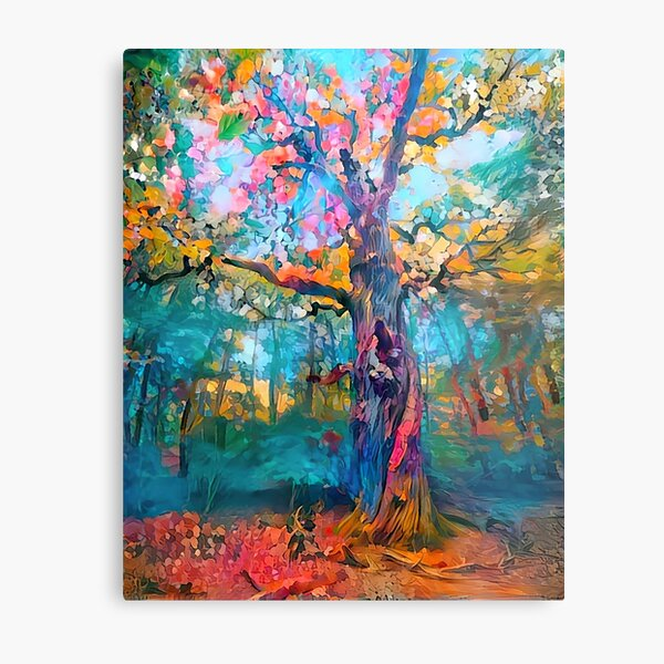Giant of the Forest Metal Print