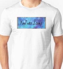 youtube icons blue Unisex T-Shirt