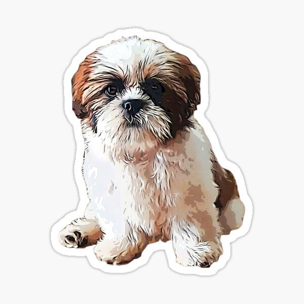 Shih Tzu Cute Puppy Dog Sticker