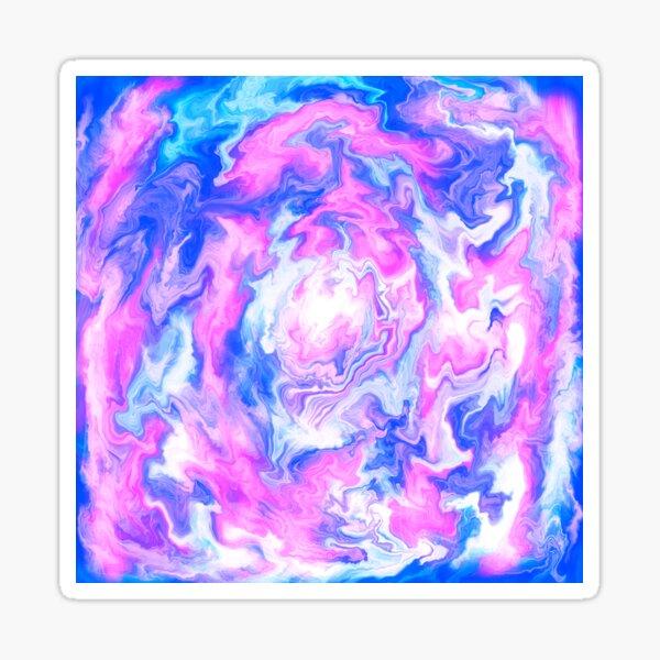 Abstracted swirls  Sticker