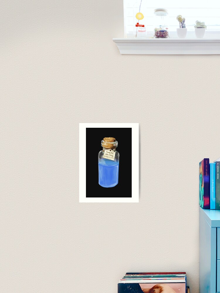 Happily Ever After Potion Art Print By Drawnexplore Redbubble