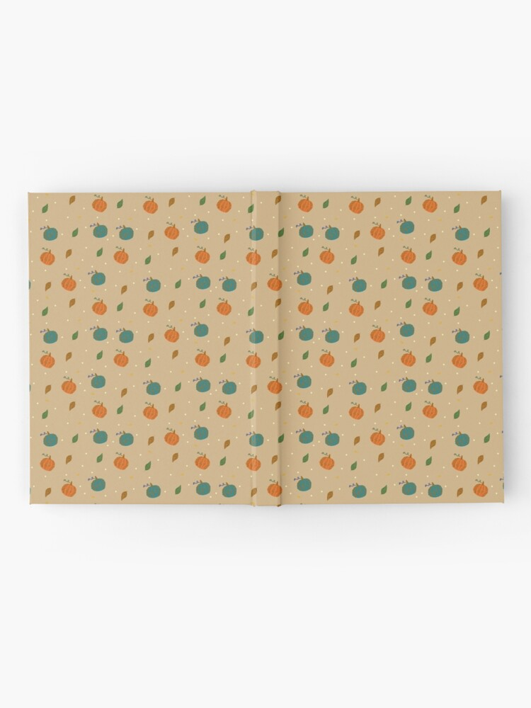 Alternate view of Pumpkins and Leaves Hardcover Journal