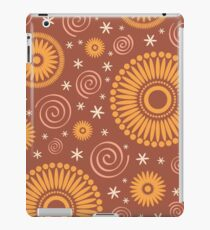 Pop! Brown & Orange iPad Case/Skin