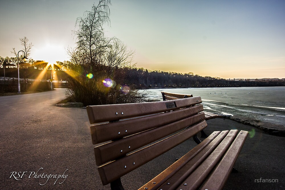 Sunset at the Bay Front by rsfanson