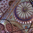 Blue Mosque Istanbul by Nigel Fletcher-Jones