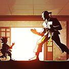 Judo Match by Pehesse