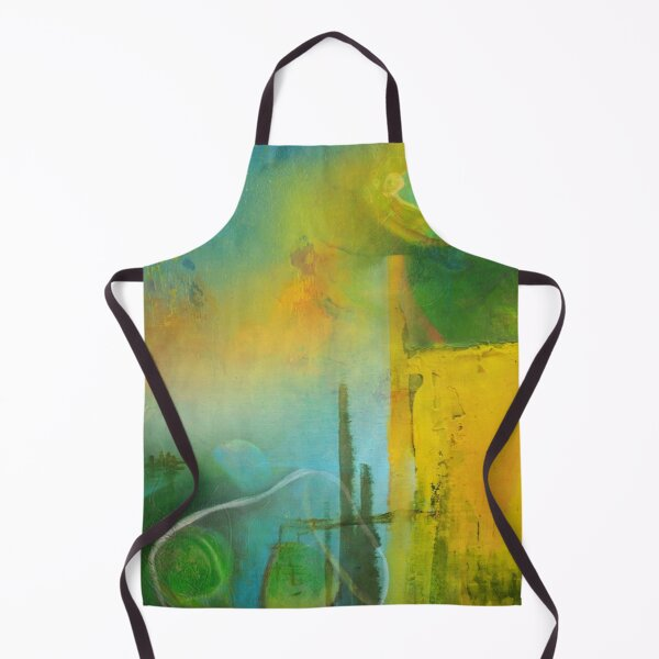 Abstract Digital Painting Remix17 Apron