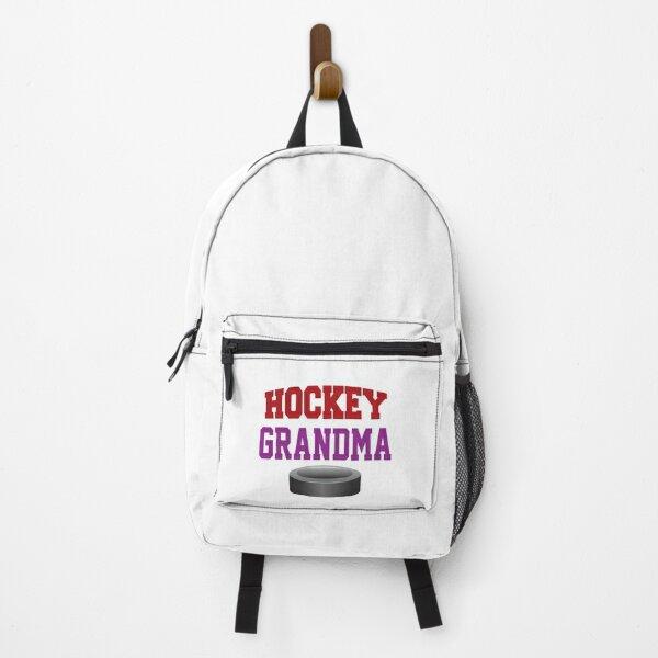 'Hockey Grandma' (White) Backpack