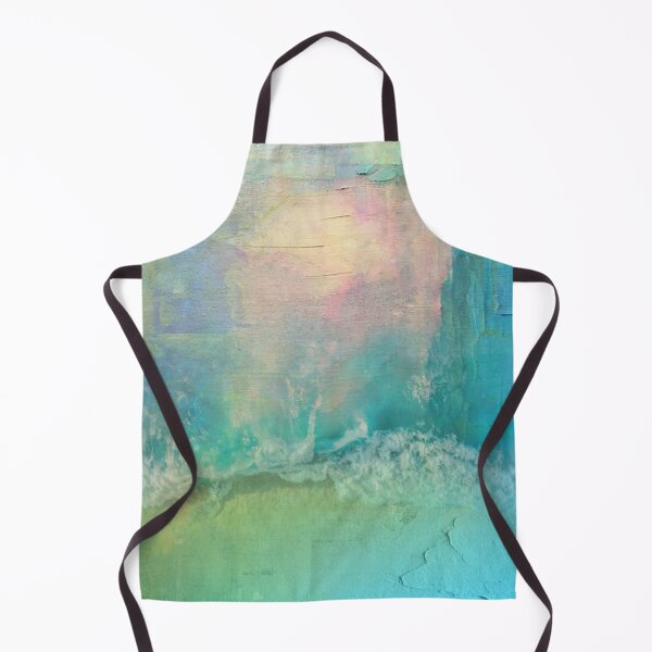 Abstract Digital Painting Remix19 Apron